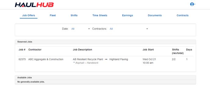 Accept Job 1